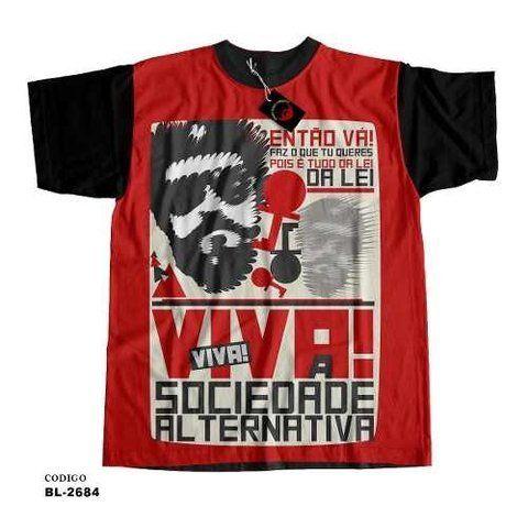 Camiseta unissex Raul Seixas