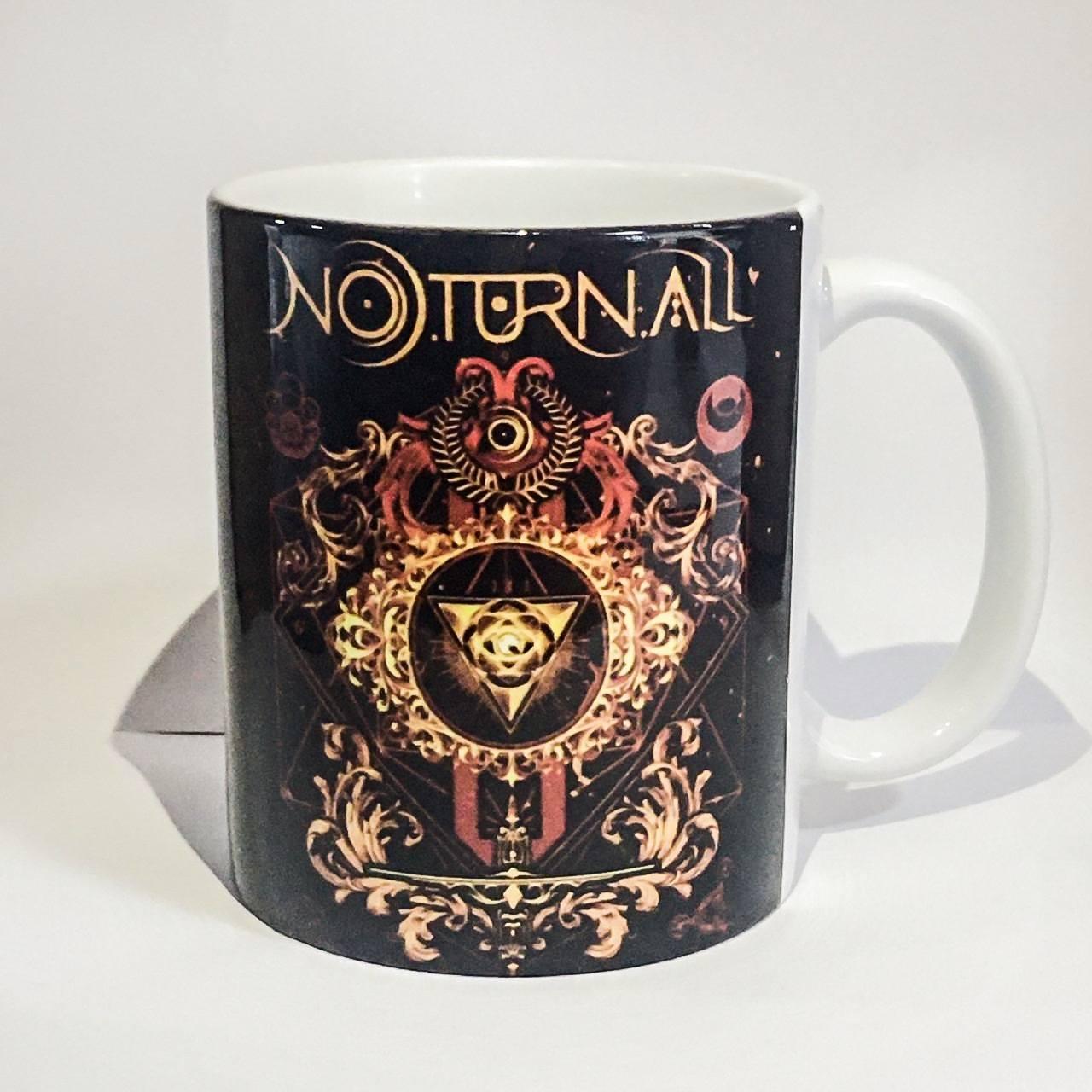 Caneca Logo Banda Noturnall em porcelana 325ml