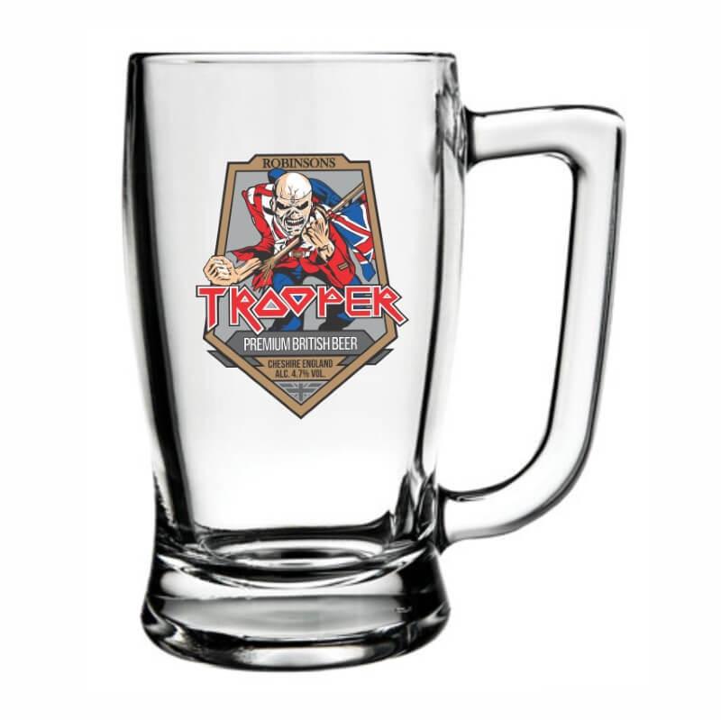 Caneca Cerveja Iron Maiden Taberna Chopp Beer Rock 340ml