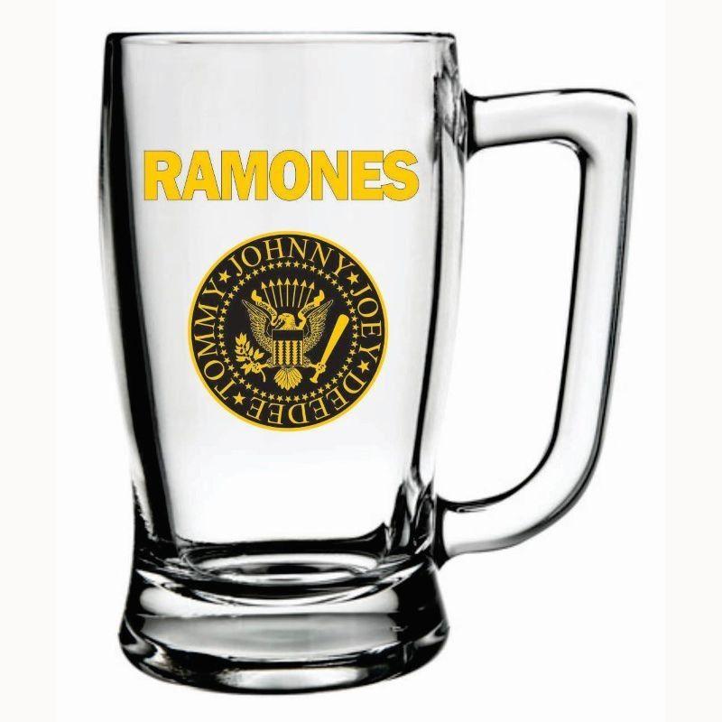 Caneca Cerveja Ramones Taberna Chopp Beer Rock 340ml