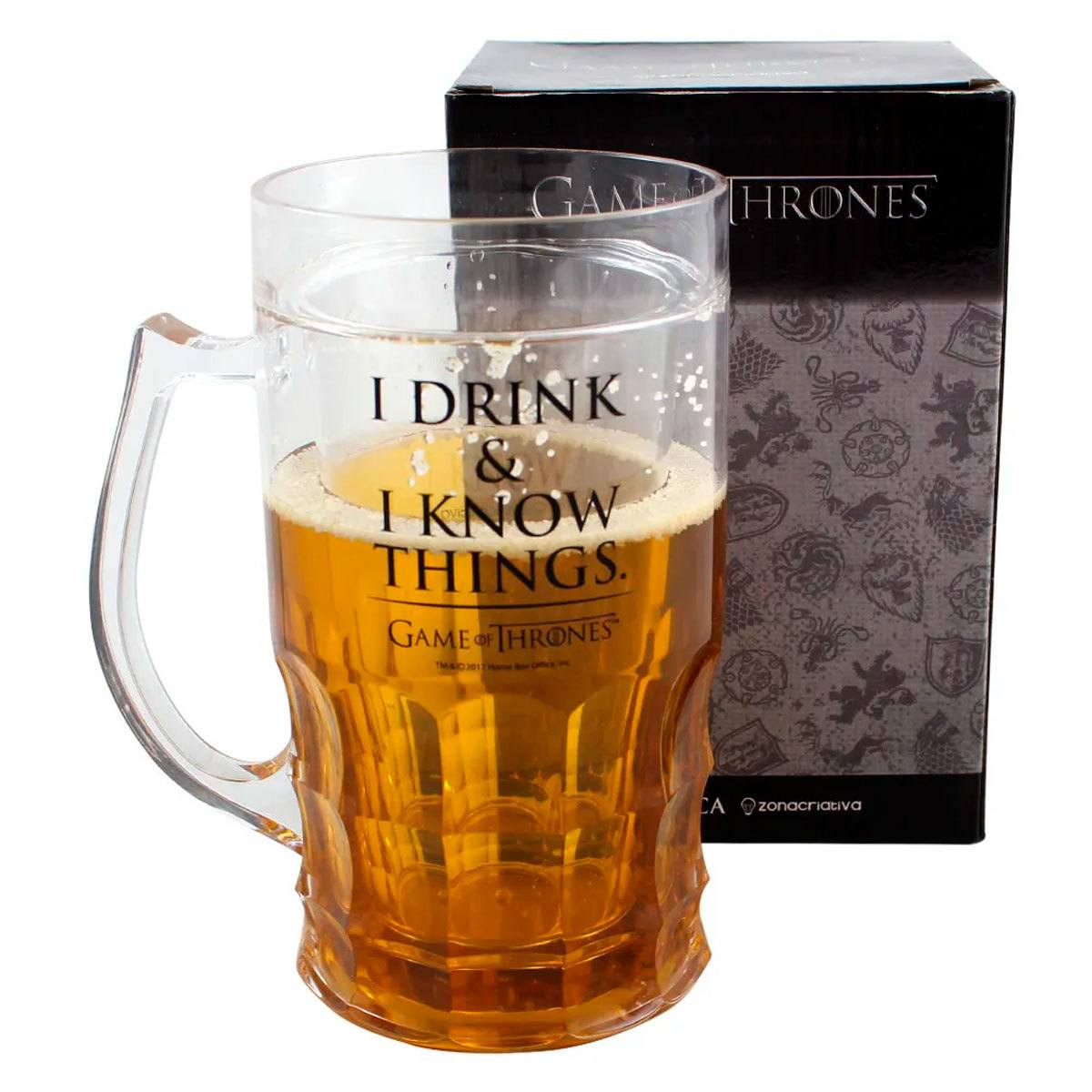 Caneca de Chopp Térmica Game Of Thrones 500 ml Presentes Super