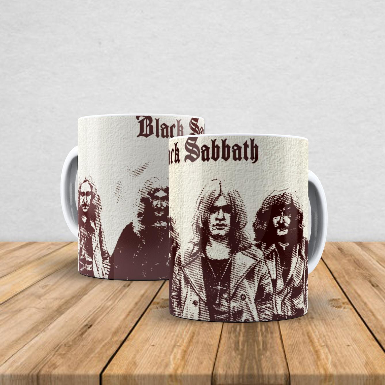 Caneca de porcelana Black Sabbath 350ml II