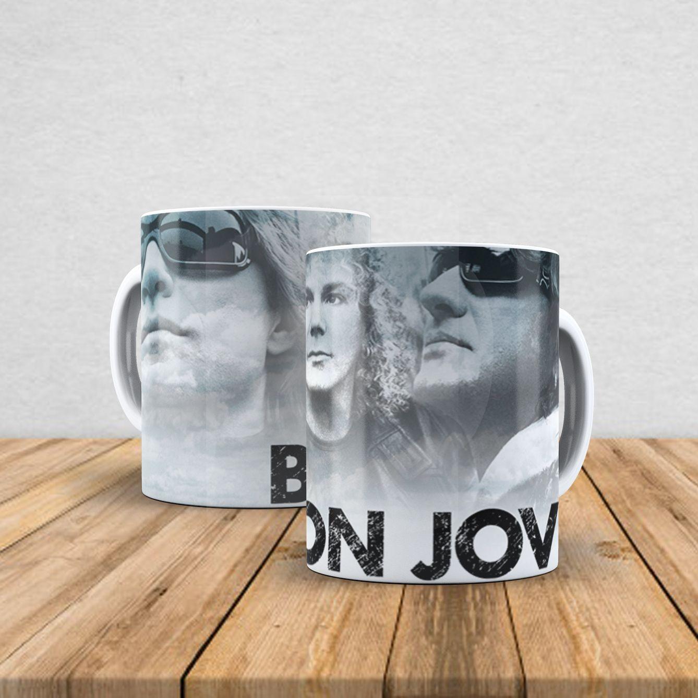 Caneca de porcelana Bon Jovi 350ml II