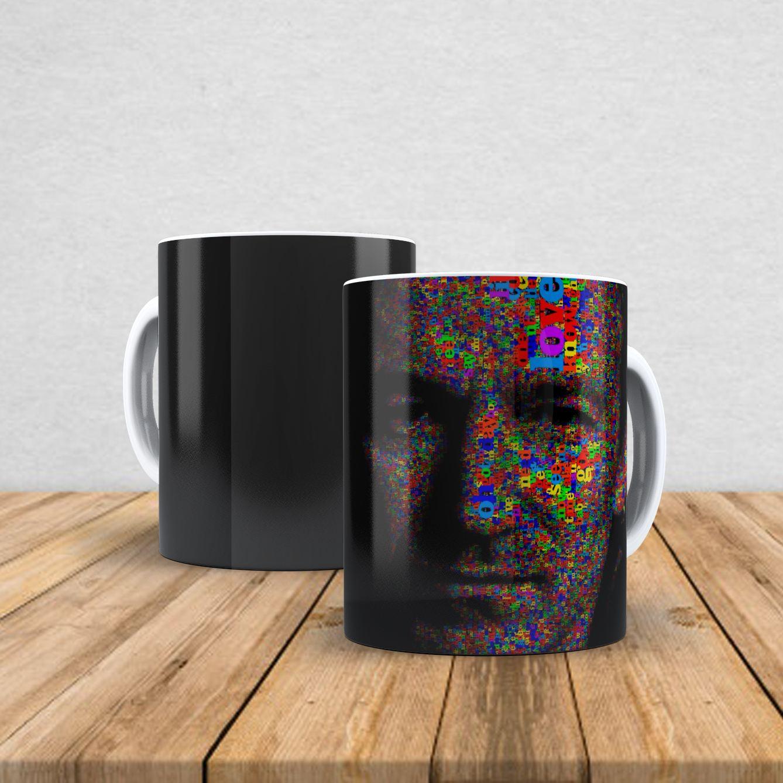 Caneca de porcelana Bono Vox 350ml I