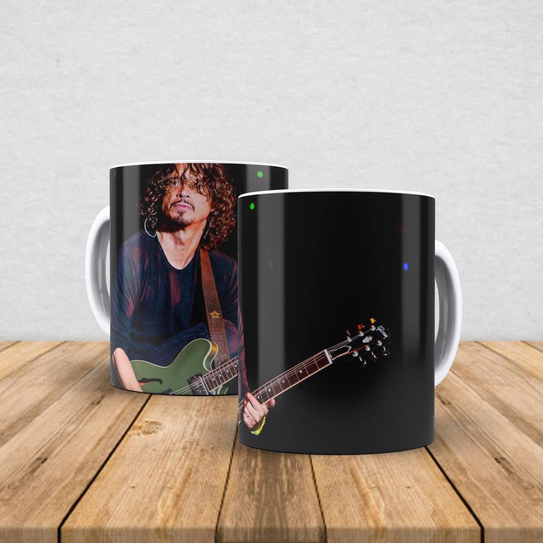 Caneca de porcelana Chris Cornell 350ml I