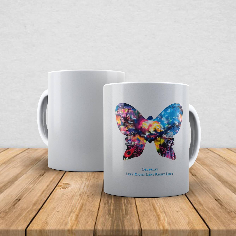 Caneca de porcelana Coldplay 350ml I