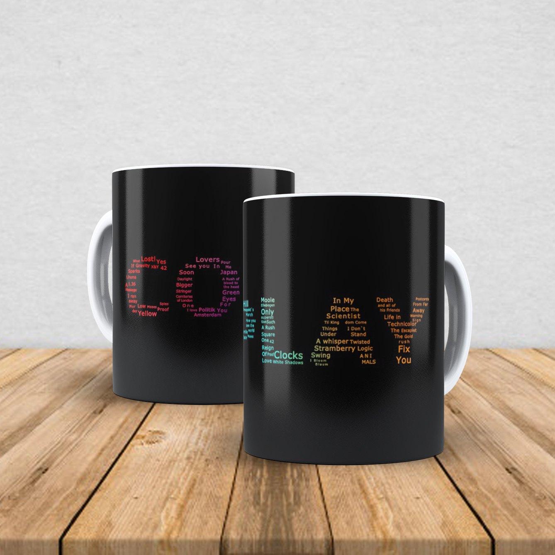 Caneca de porcelana Coldplay 350ml III