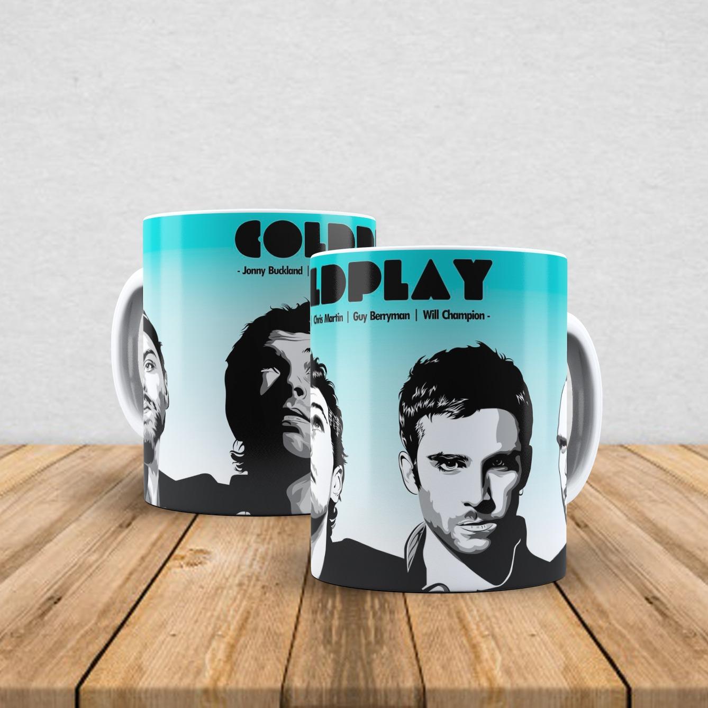 Caneca de porcelana Coldplay 350ml IV