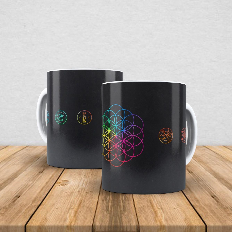 Caneca de porcelana Coldplay 350ml VI