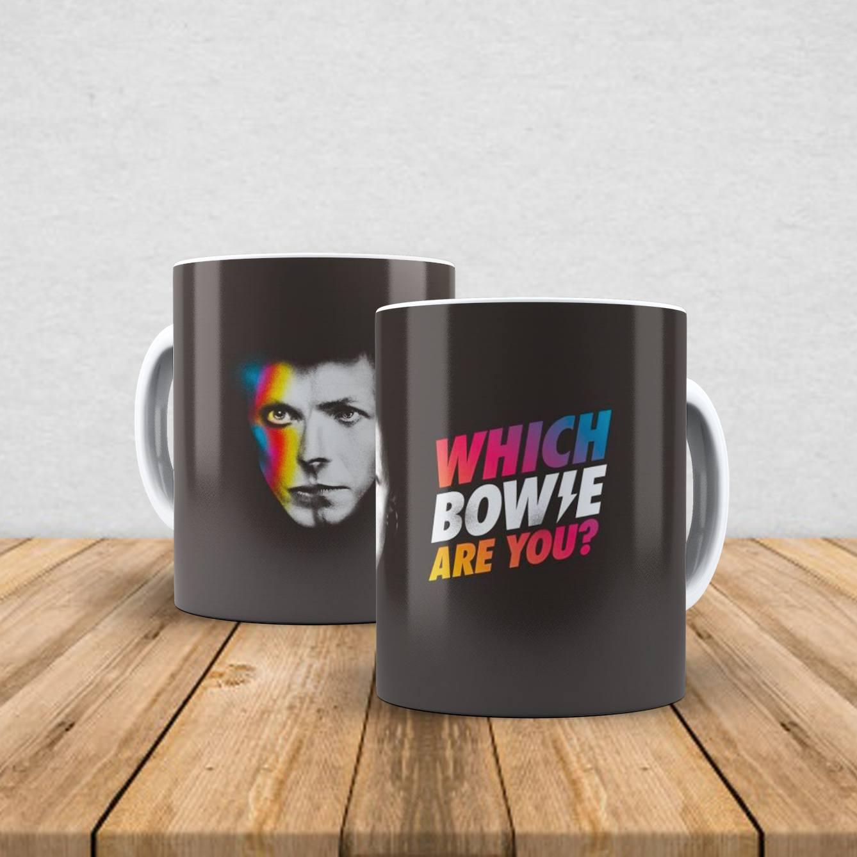 Caneca de porcelana David Bowie 350ml I