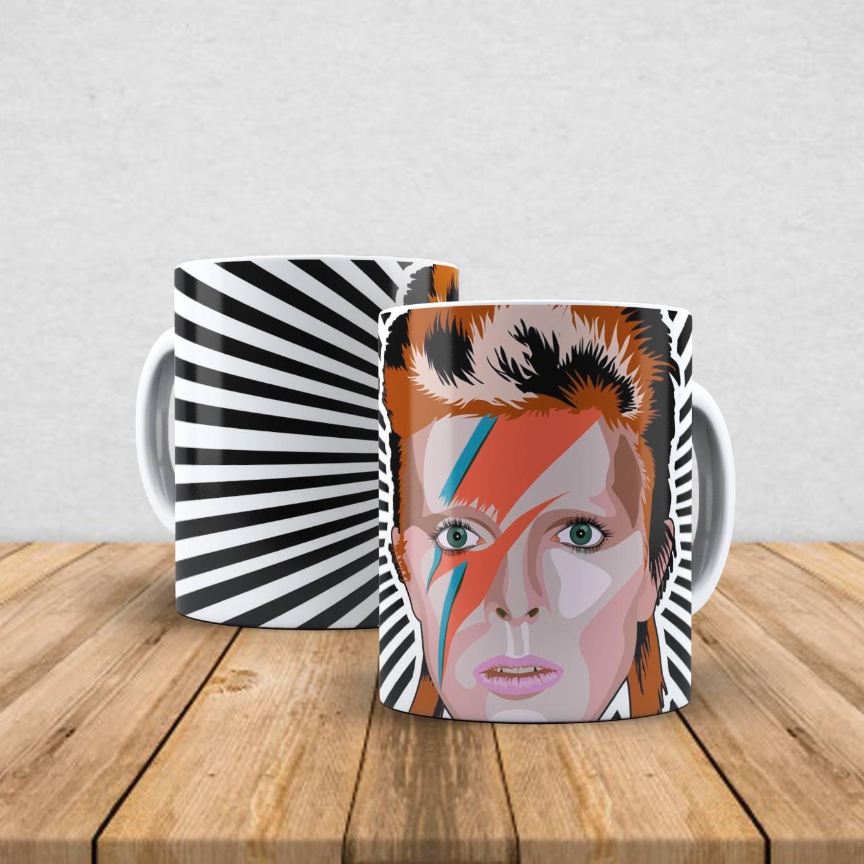 Caneca de porcelana David Bowie 350ml II