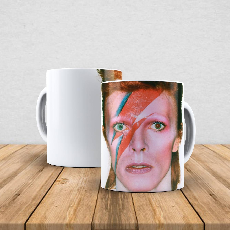 Caneca de porcelana David Bowie 350ml V