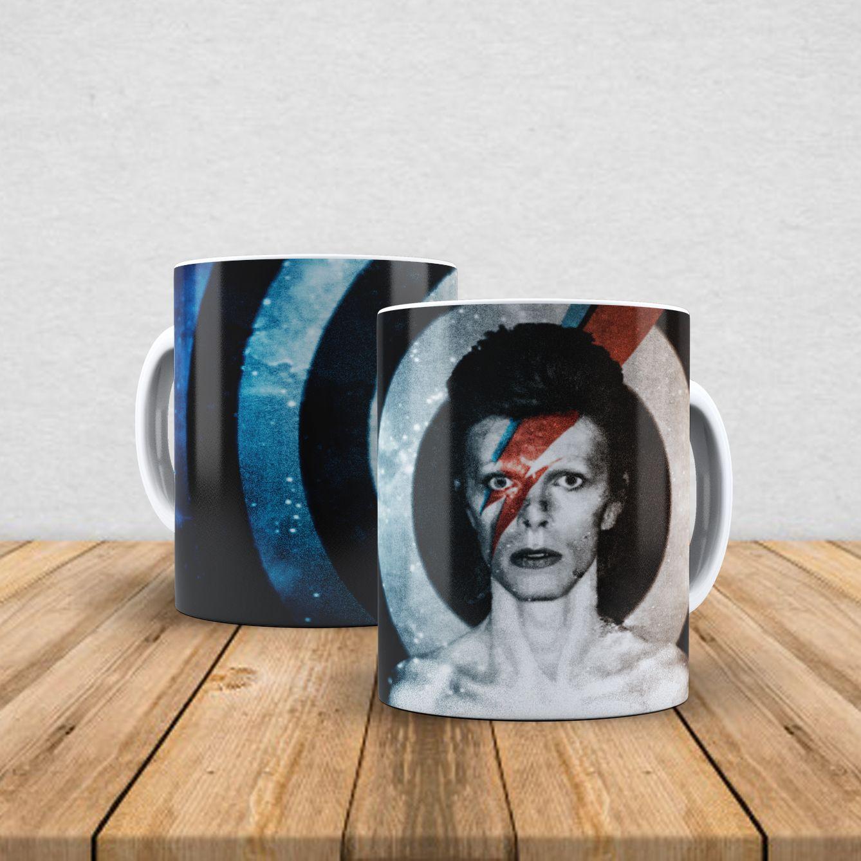Caneca de porcelana David Bowie 350ml VI