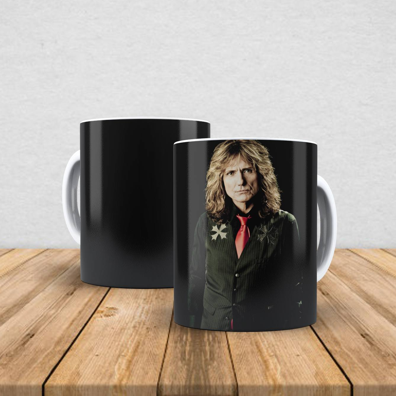 Caneca de porcelana David Coverdale 350ml I