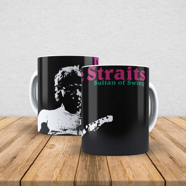Caneca de porcelana Dire Straits 350ml I