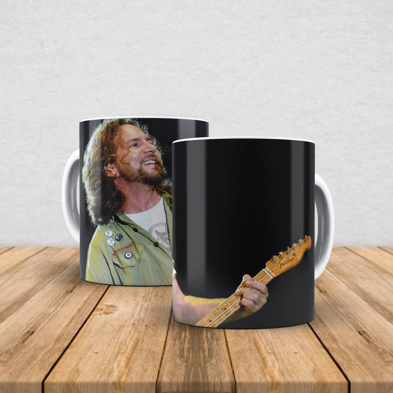 Caneca de porcelana Eddie Vedder 350ml I