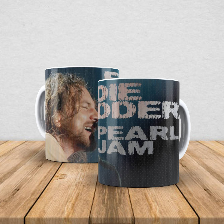 Caneca de porcelana Eddie Vedder 350ml II
