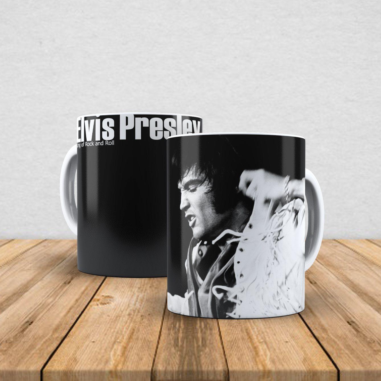 Caneca de porcelana Elvis 350ml II