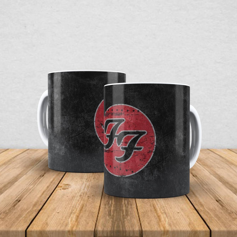 Caneca de porcelana Foo Fighters 350ml I