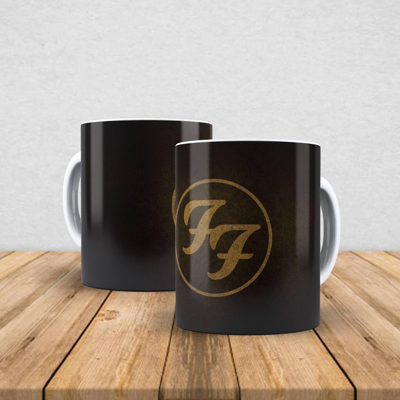 Caneca de porcelana Foo Fighters 350ml II