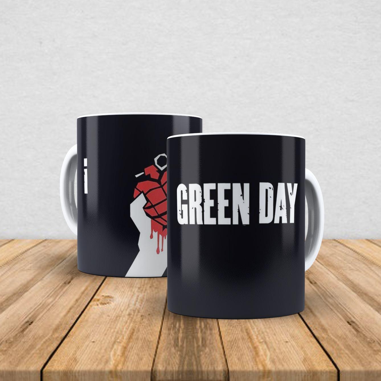 Caneca de porcelana Green Day 350ml II