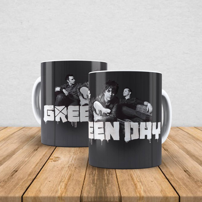 Caneca de porcelana Green Day 350ml III