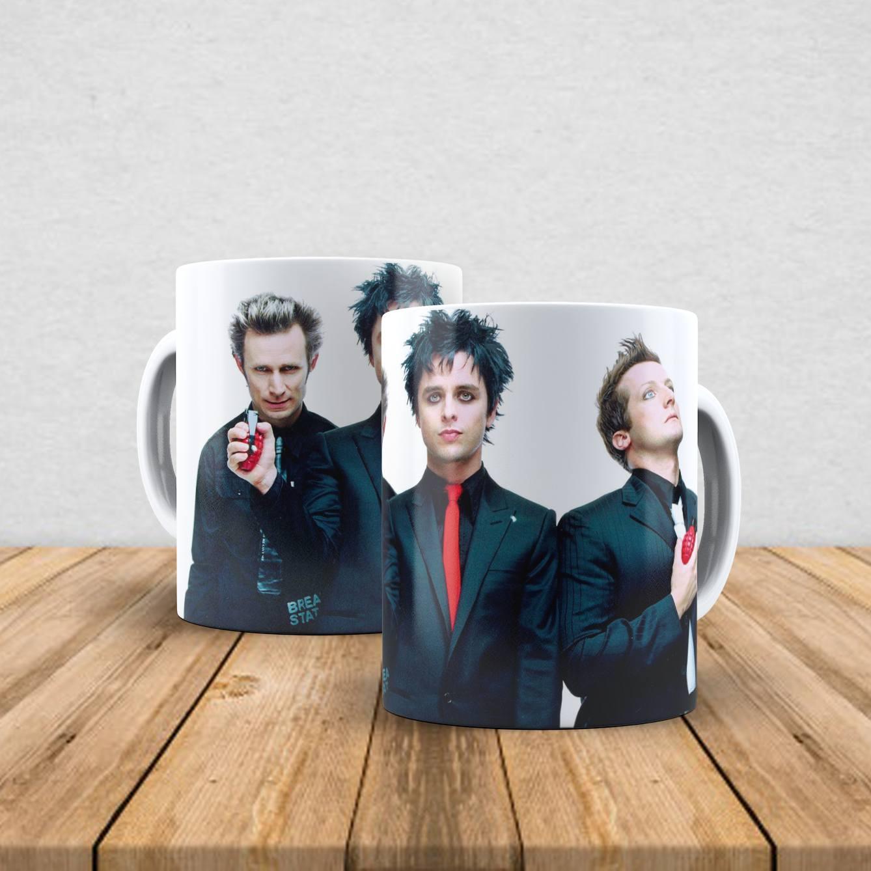 Caneca de porcelana Green Day 350ml IV