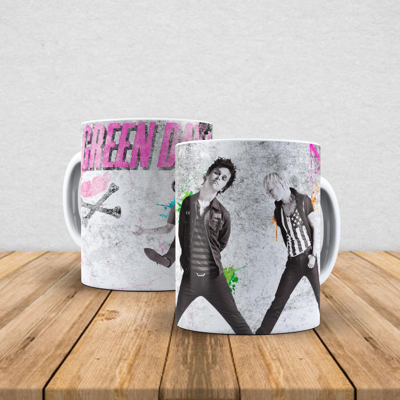 Caneca de porcelana Green Day 350ml V