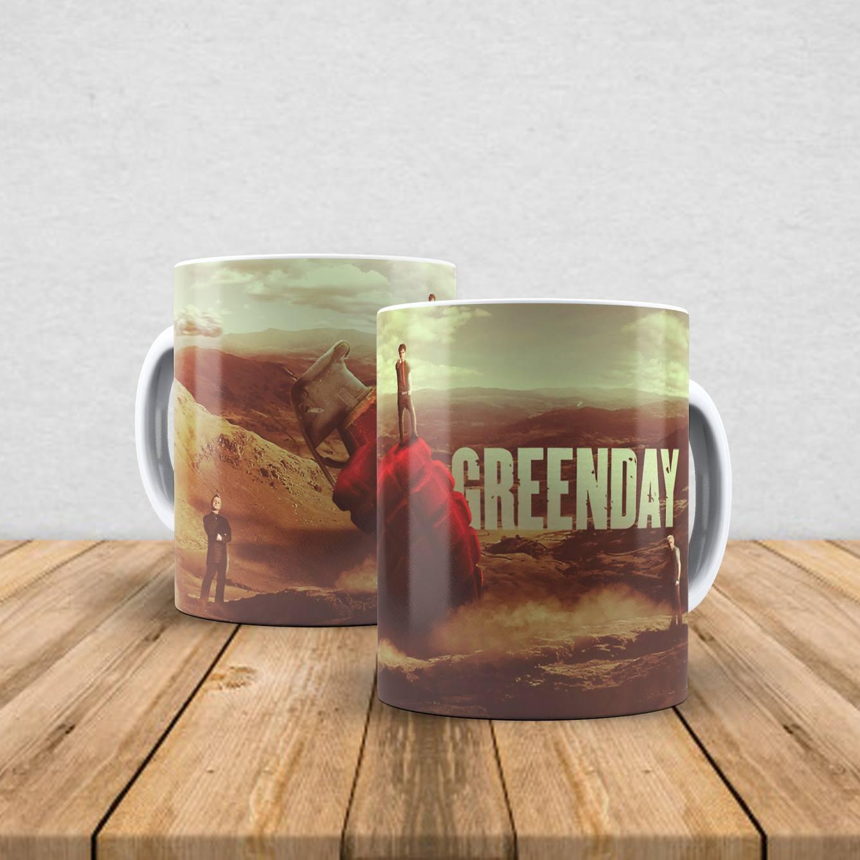 Caneca de porcelana Green Day 350ml VI