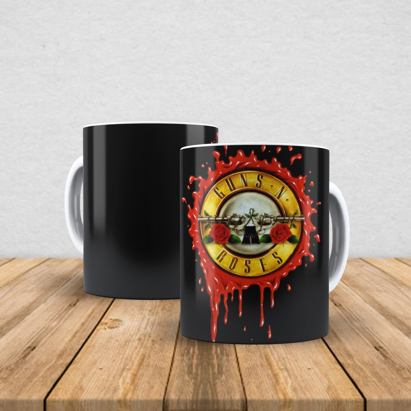 Caneca de porcelana Guns n' Roses 350ml I
