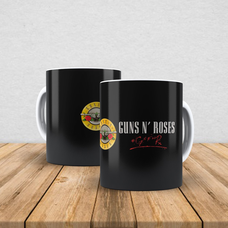Caneca de porcelana Guns n' Roses 350ml III