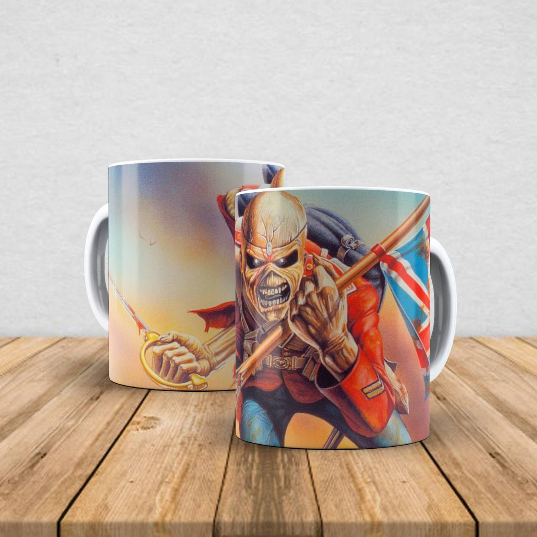 Caneca de porcelana Iron Maiden 350ml II