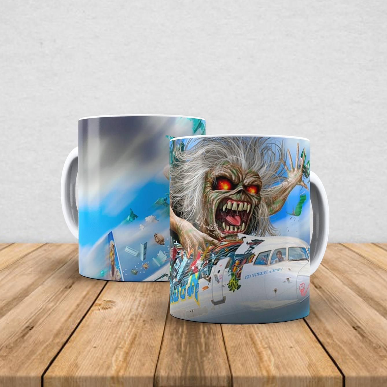 Caneca de porcelana Iron Maiden 350ml IX