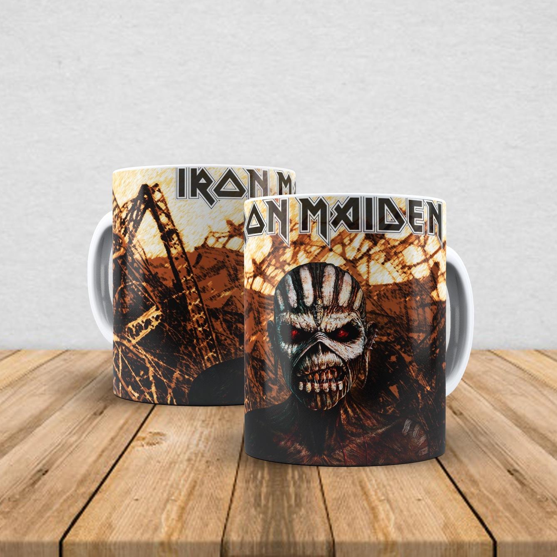 Caneca de porcelana Iron Maiden 350ml VI