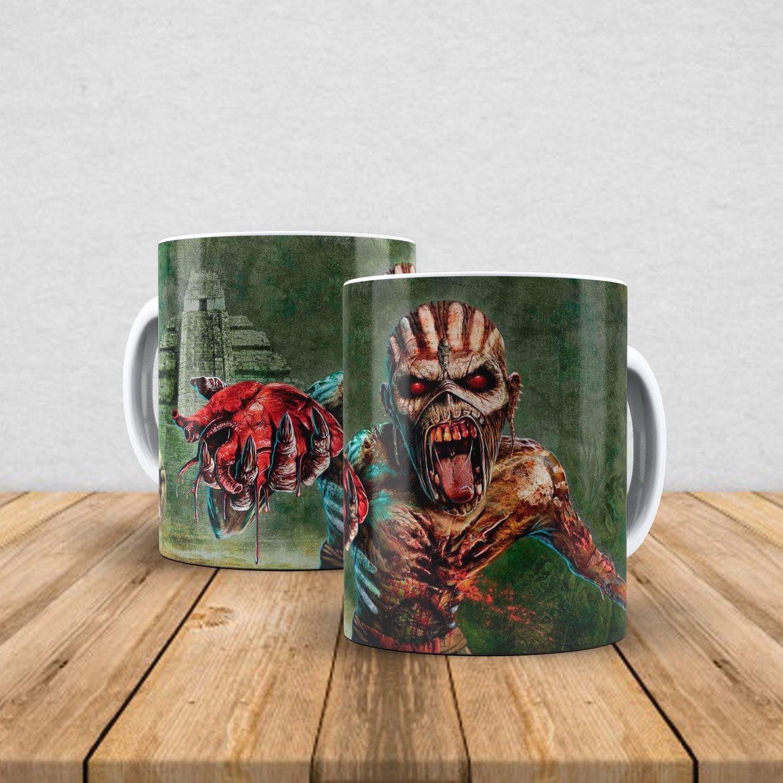 Caneca de porcelana Iron Maiden 350ml VII