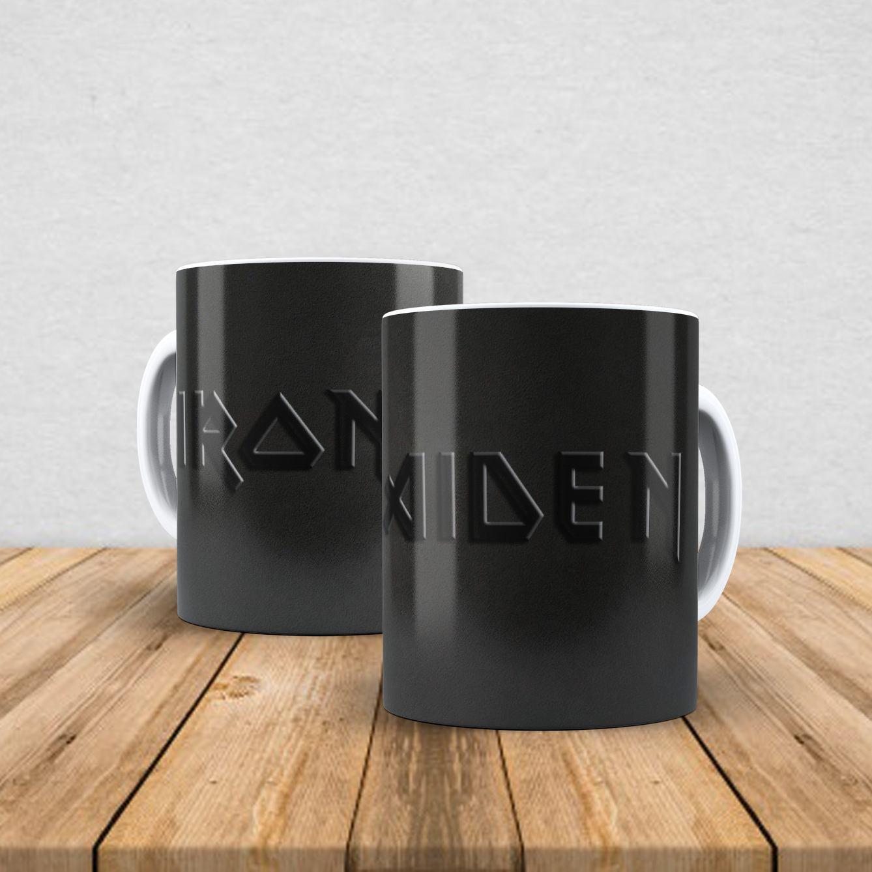 Caneca de porcelana Iron Maiden 350ml XI