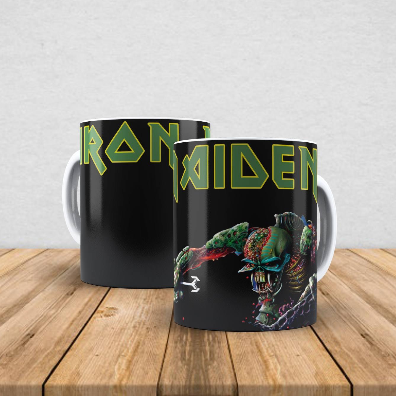 Caneca de porcelana Iron Maiden 350ml XIII