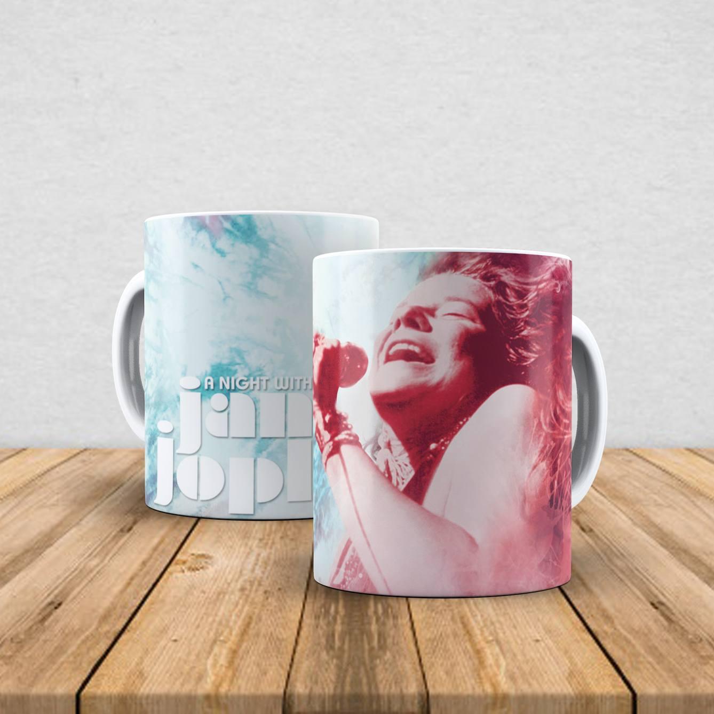 Caneca de porcelana Janis Joplin 350ml II