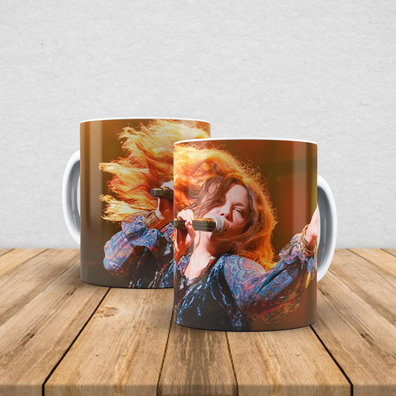 Caneca de porcelana Janis Joplin 350ml III
