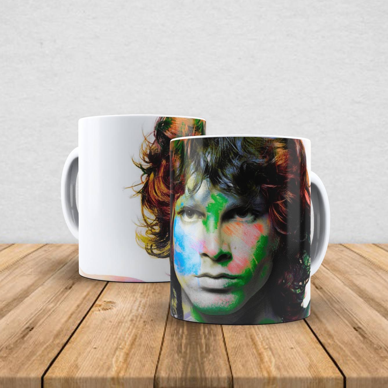 Caneca de porcelana Jim Morrison 350ml I