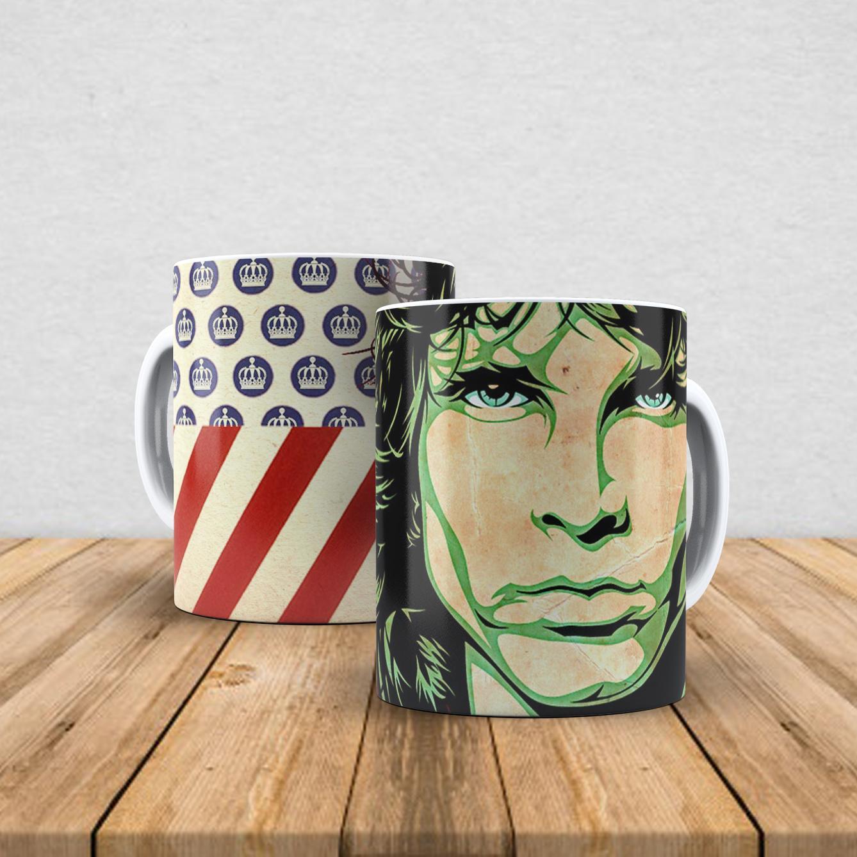 Caneca de porcelana Jim Morrison 350ml II