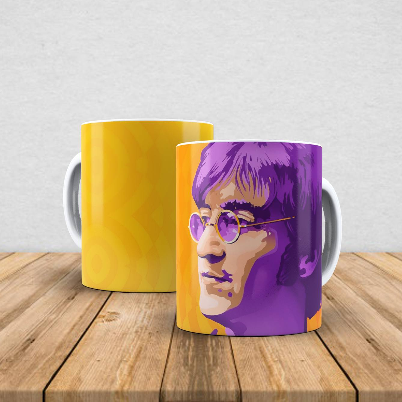 Caneca de porcelana John Lennon 350ml I