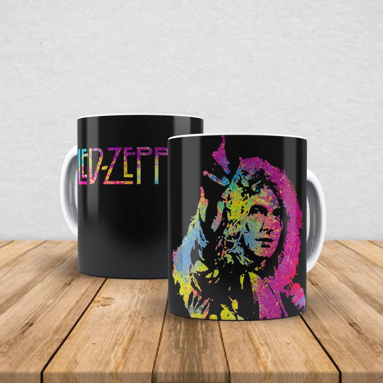 Caneca de porcelana Led Zeppelin 350ml VIII