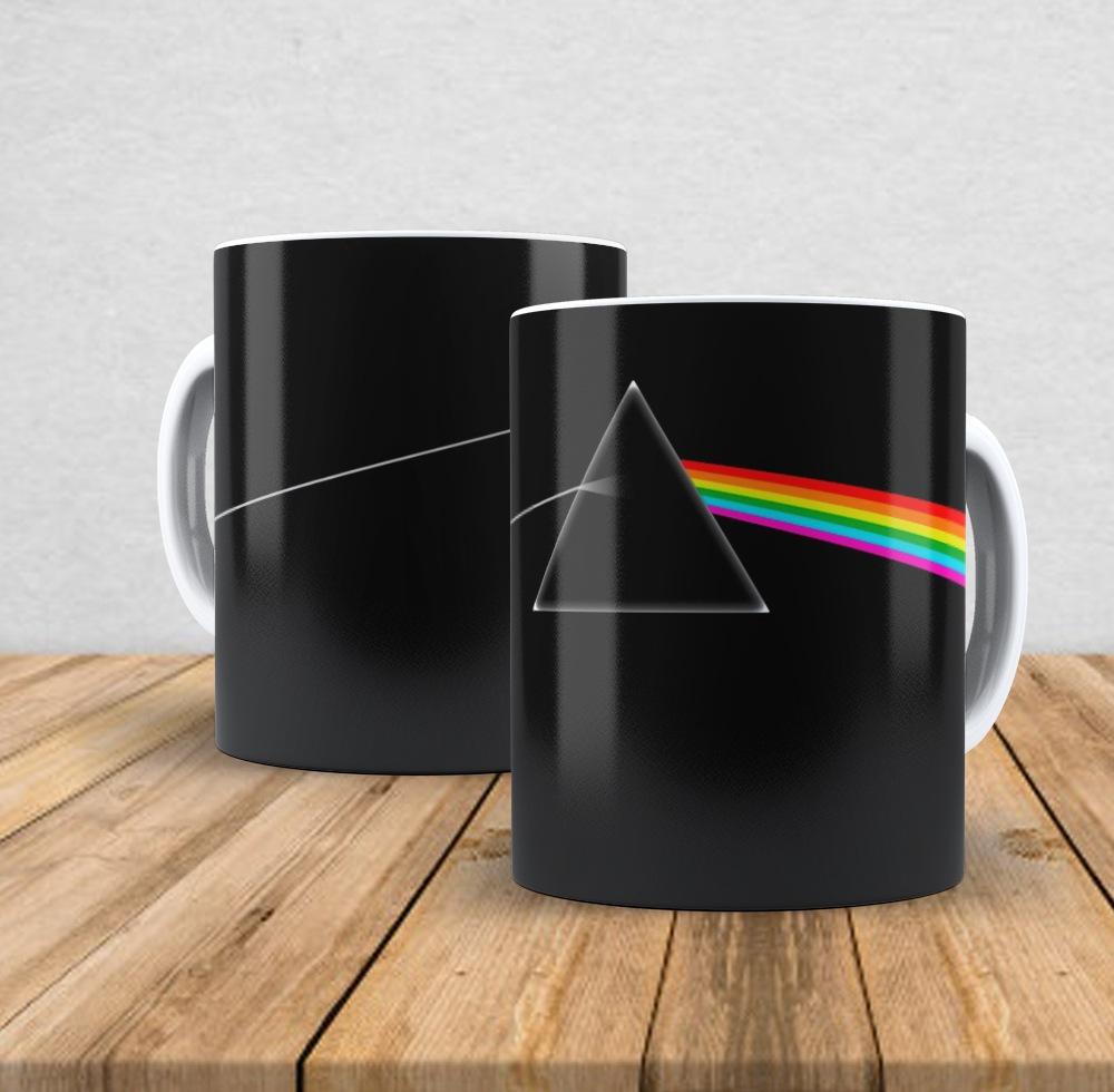 Caneca de porcelana Pink Floyd II - 350ml