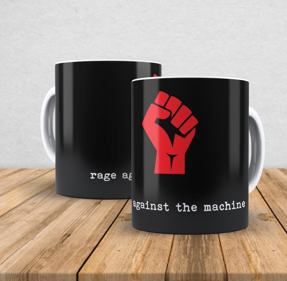 Caneca de porcelana Rage Against the Machine I- 350ml