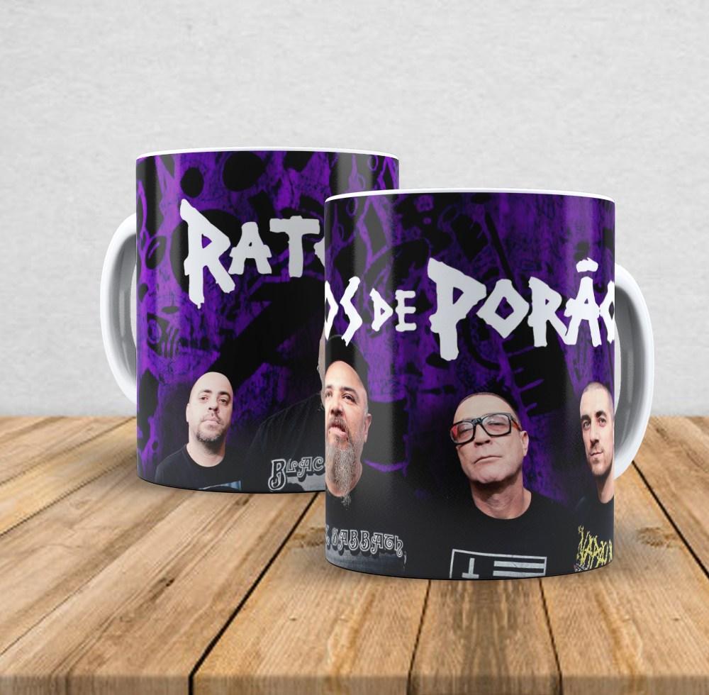 Caneca de porcelana Ratos de Porão - 350ml