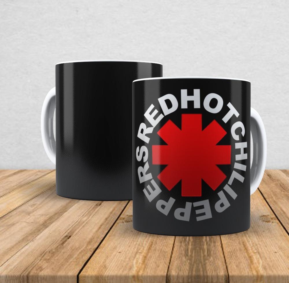 Caneca de porcelana Red Hot Chilli Peppers I - 350ml