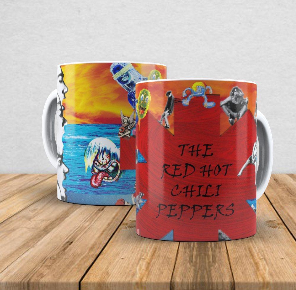 Caneca de porcelana Red Hot Chilli Peppers II - 350ml