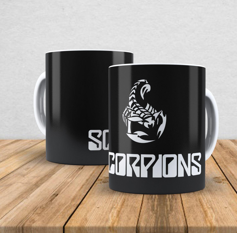 Caneca de porcelana Scorpions - 350ml