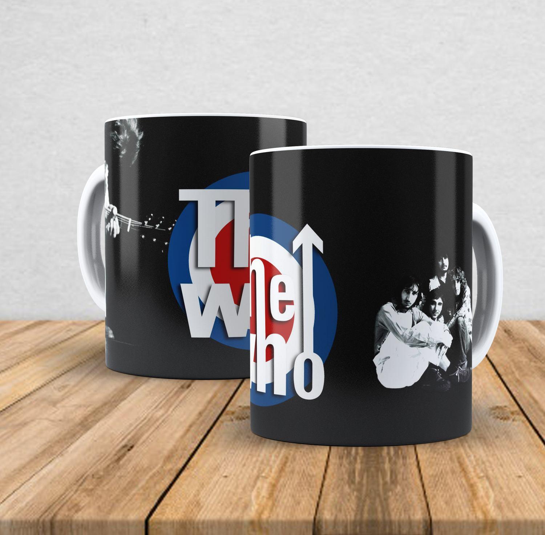 Caneca de porcelana The Who 350ml
